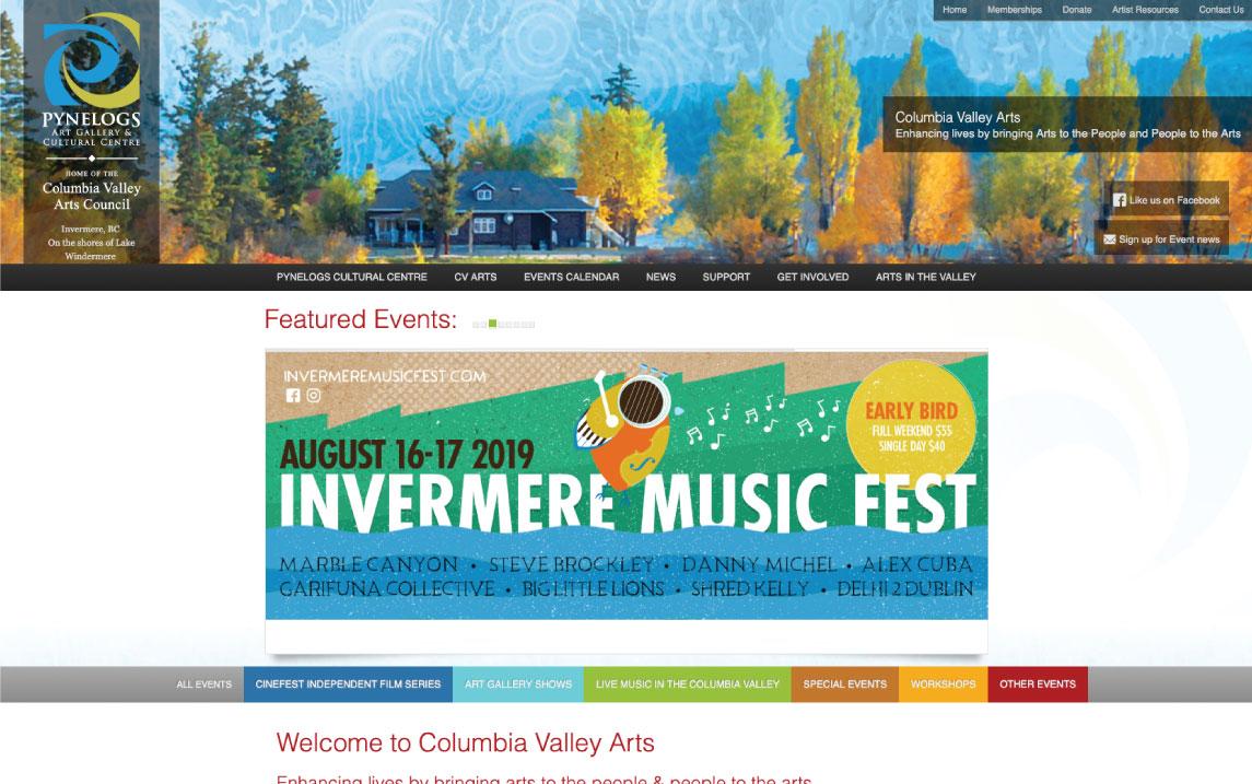 Columbia Valley Arts