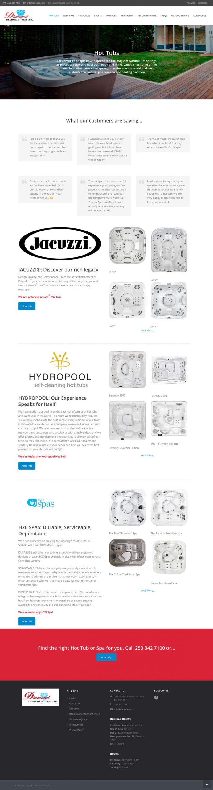 Diamond Heating and Spas