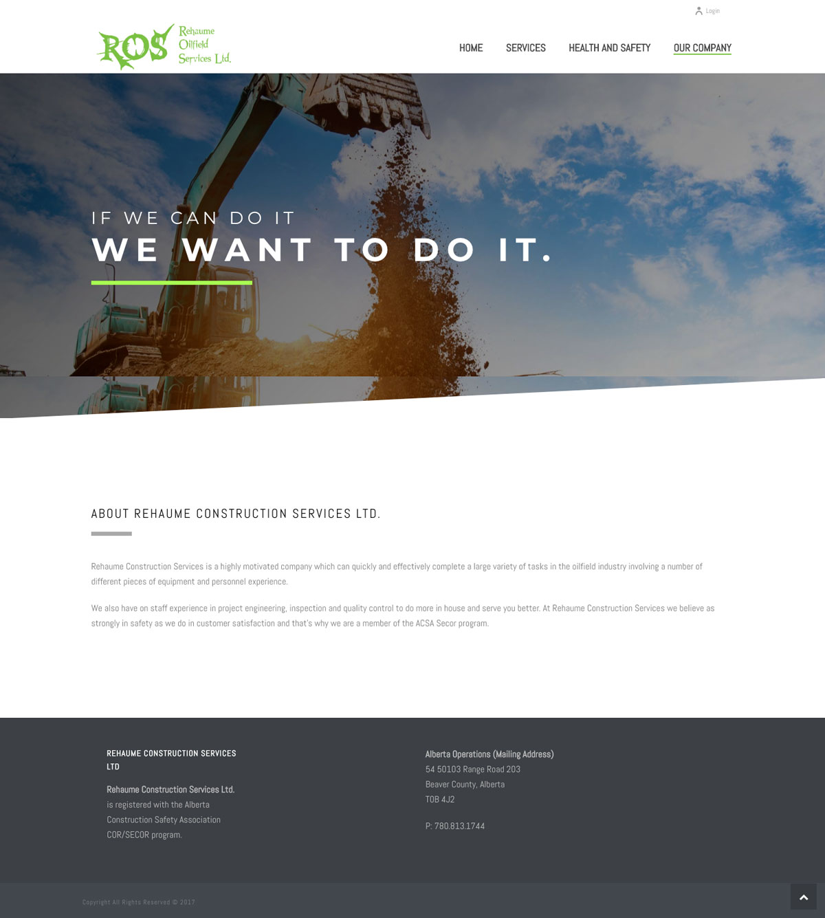 Rehaume Oilfield Services