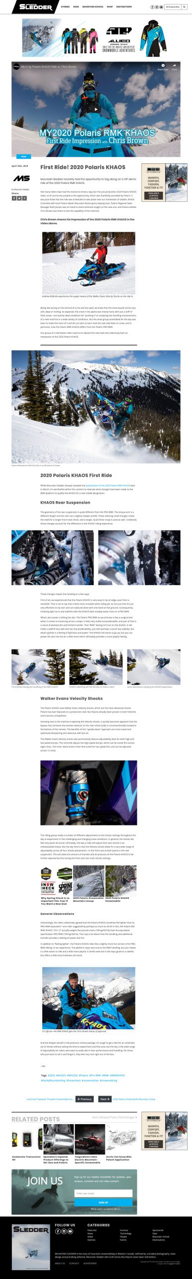 Mountain Sledder Magazine