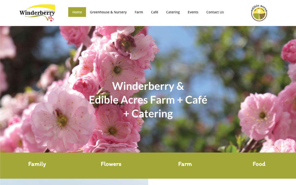Winderberry & Edible Acres