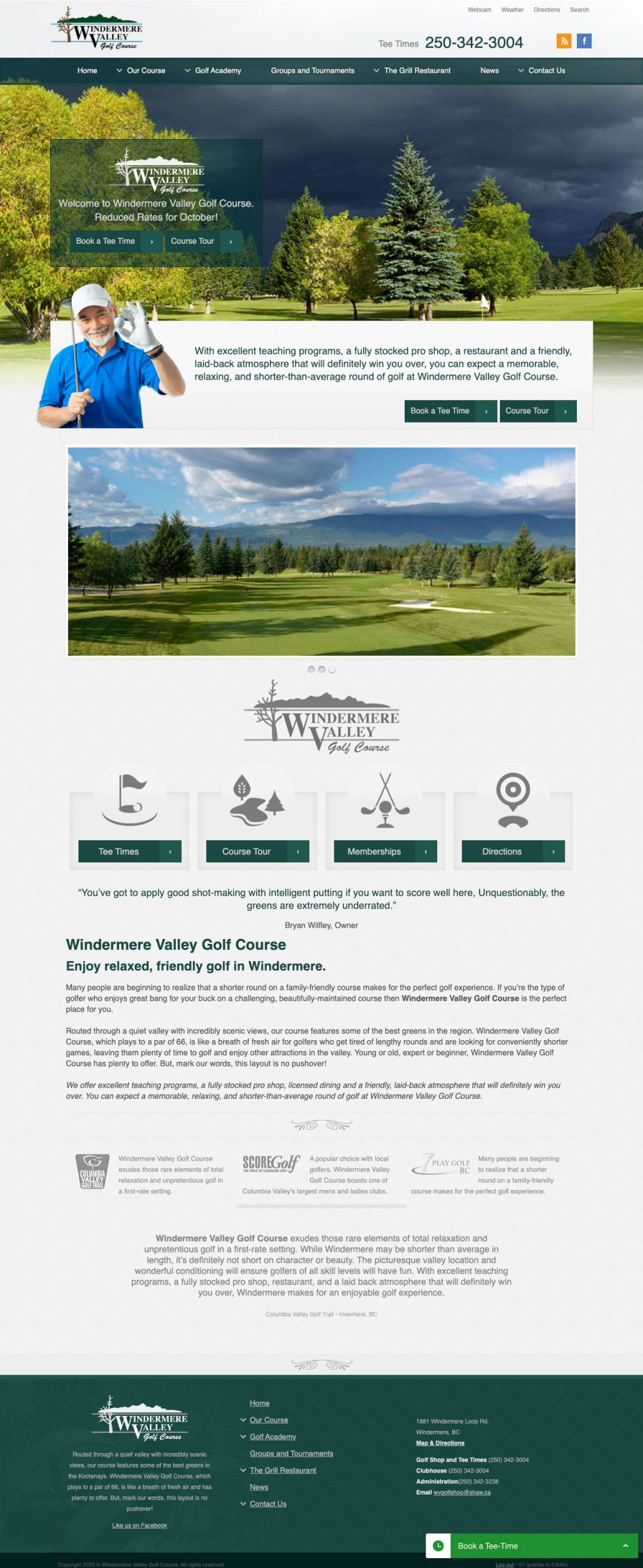 Windermere Valley Golf Course